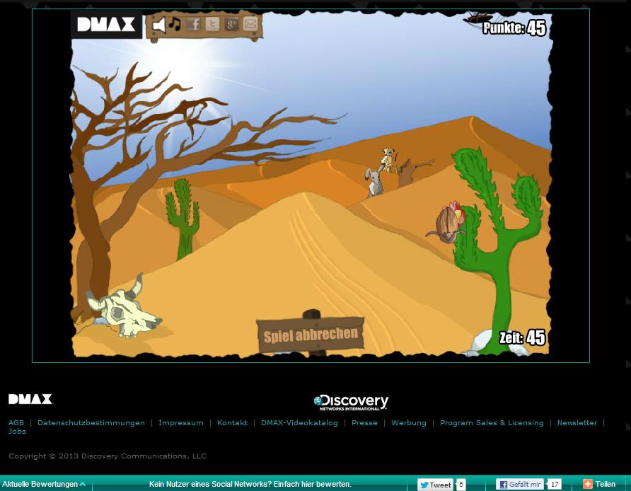 www.dmax.de/games